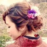 印象別!振袖に合うヘアアレンジ☆振袖に負けない華やかヘアに!のサムネイル画像