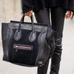 ON/OFFでもオシャレに、気軽に持つならハンドバッグは黒が最適!のサムネイル画像