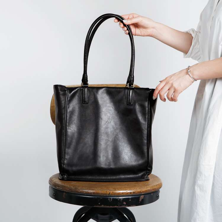 Reflection - PLESOIE TOTE (BLACK) -
