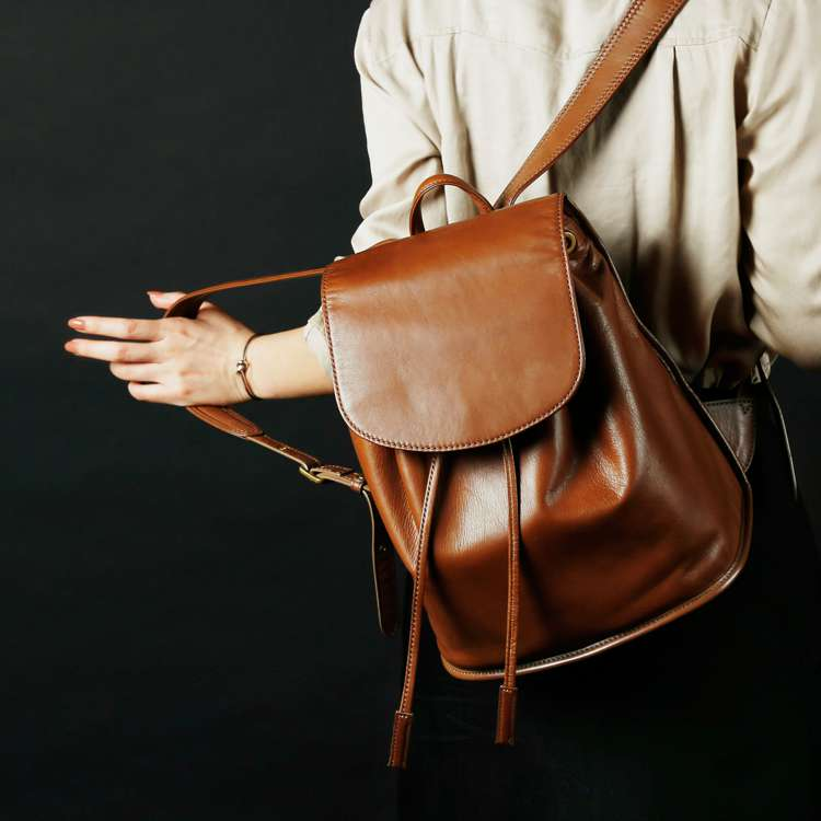 Reflection - PLESOIE MINI RUCKSACK (BROWN) -