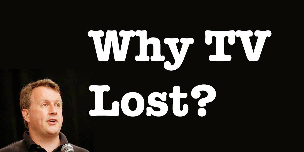 なぜ、テレビは負けたのか。(Why TV Lost): Y Combinatorのポール・グラハムが語るテレビがインターネットに負けた理由。