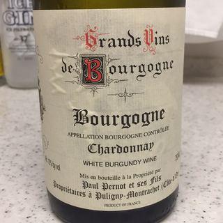 Paul Pernot et Ses Fils Bourgogne Chardonnay(ポール・ペルノー・エ・セ・フィス ブルゴーニュ シャルドネ)