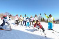 【関西】冬休みにスキー★短期♪登録制◎子ども引率staff☆スポーツ!5days