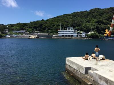 東京の離島「伊豆大島」で、子供の見守りと学習指導