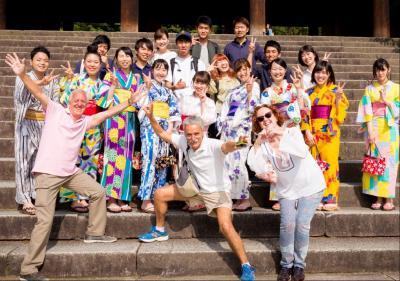 京都のまちなかにある観光案内所でのボランティア