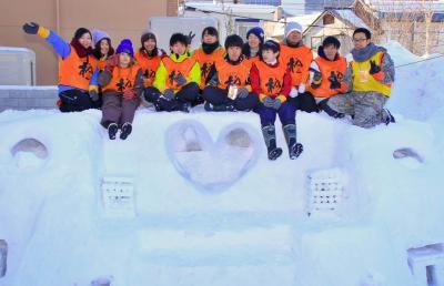 【学生向けボラ合宿】真冬の小樽で地域・日中韓交流×共同生活も楽しめる...
