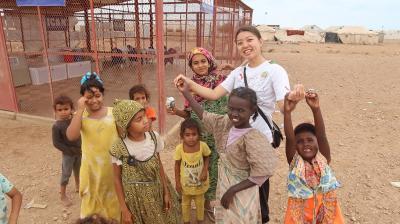 ジブチ駐在員帰国報告会 ~イエメン難民の子どもたちとともに~