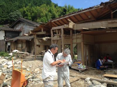 神奈川県から九州北部豪雨災害へ家具運搬依頼