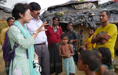 10/26(木) 緊急報告会「ロヒンギャ難民の今~バングラデシュ 現地の現状...