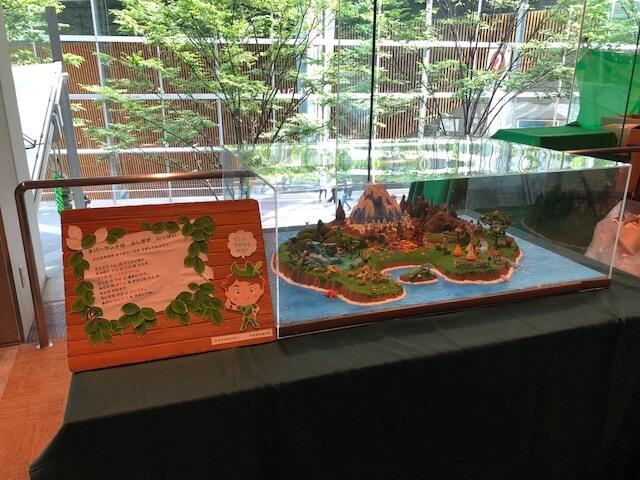 ネバーランドのジオラマ模型