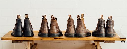 晴雨で履ける、万能サイドゴアブーツ。履くほど自分の足に馴染む、「育てる靴」。