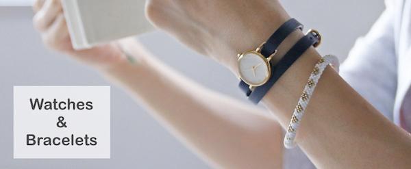 手元を装う季節に、腕時計×ブレスレットで魅せる