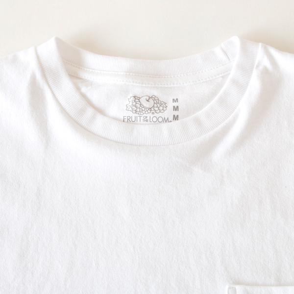クルーネックポケット付半袖Tシャツ
