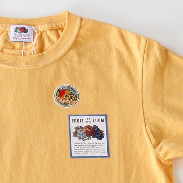フルーツ染めTシャツ マンゴー