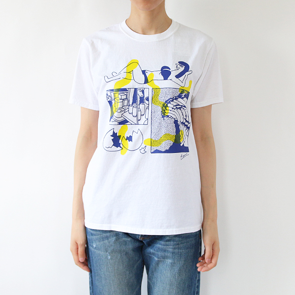 FRUIT PARLOR プリントTシャツ  face