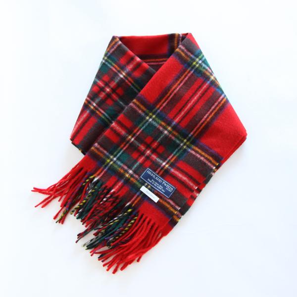 Highland Tweeds/ストール Royal Stewart