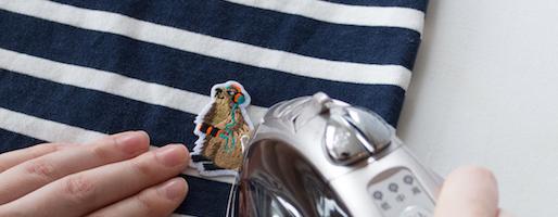 ワッペンとブローチで自由にカスタマイズ。カットソーやバッグに付ける芸術的な刺繍に惚れ惚れ