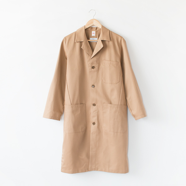 【NEW MODEL】 GARAGE COAT BEIGE