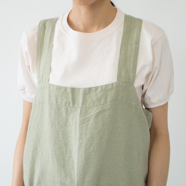 リネンエプロン Pinafore apron Colors