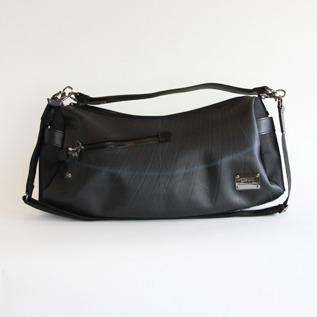 2way one shoulder bag Black