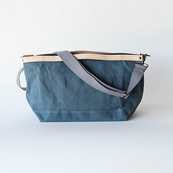 Shoulder tote grey