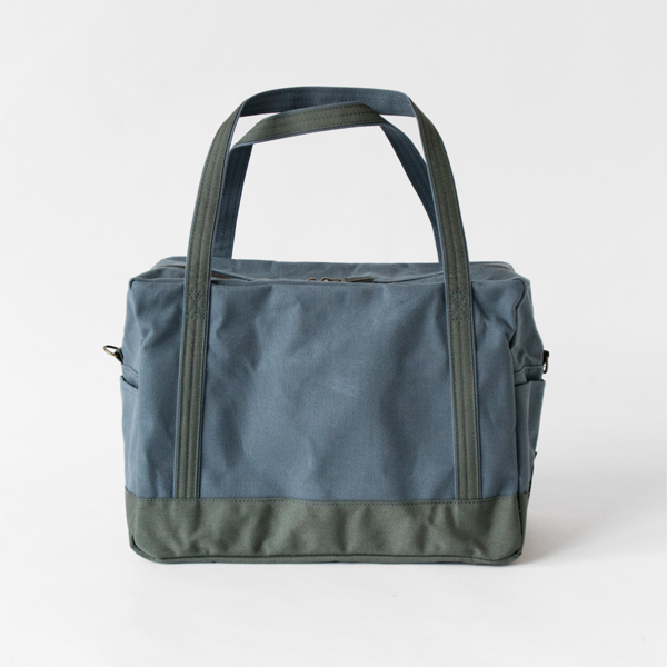 daily boston bag grey