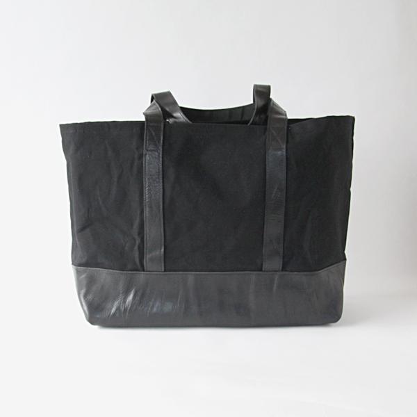 fabricaトートL 0001 black