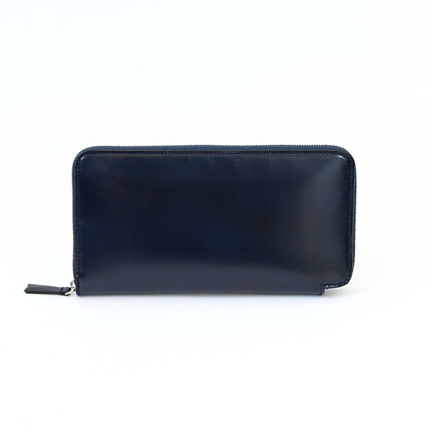 CORDOVAN LONG WALLET(Navy)