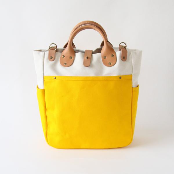 ギャリソンキャリーオール Natural / Yellow