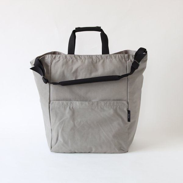 STAND UP 2WAY TOTE GREY