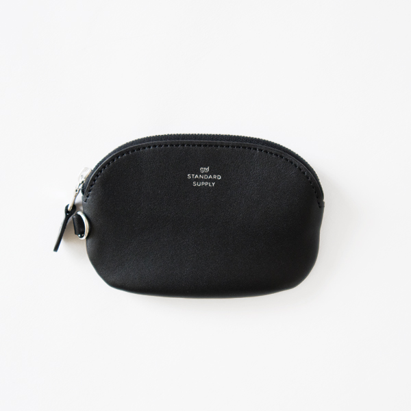 OVAL ZIP TOP CASE S(BLACK)
