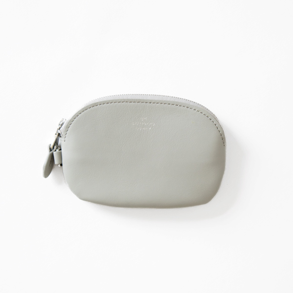 OVAL ZIP TOP CASE S(LIGHT GREY)