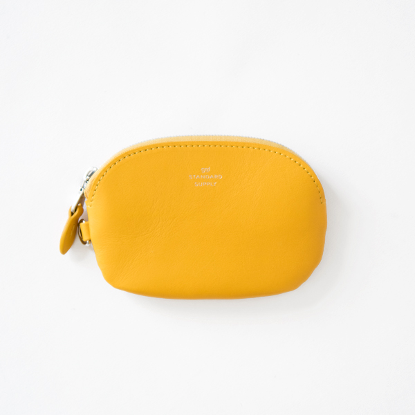 OVAL ZIP TOP CASE S(YELLOW)