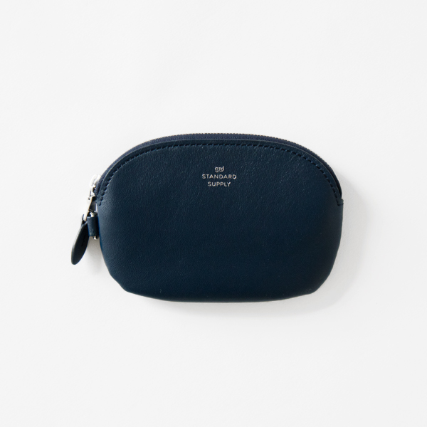 OVAL ZIP TOP CASE S(NAVY)