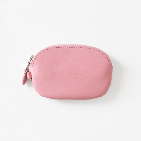OVAL ZIP TOP CASE S(PINK)