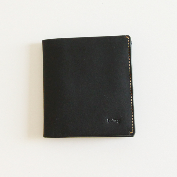 Note Sleeve wallet BLACK