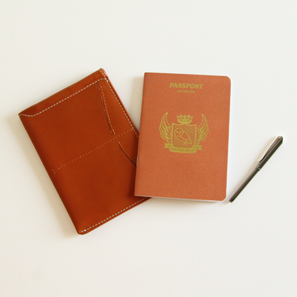 Passport Sleeve TAN
