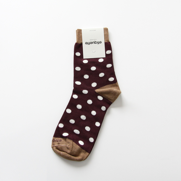 WOMENS POLKA DOTS Bordeux
