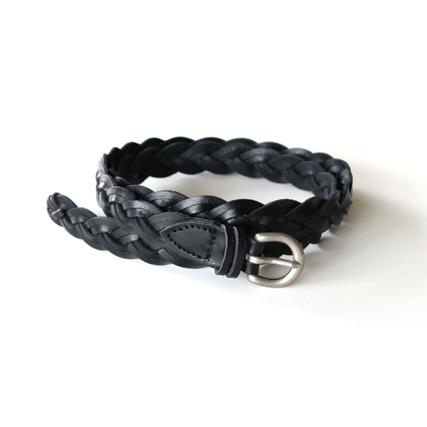 ベルト DOUBLE 3PLY BELT(BLACK)