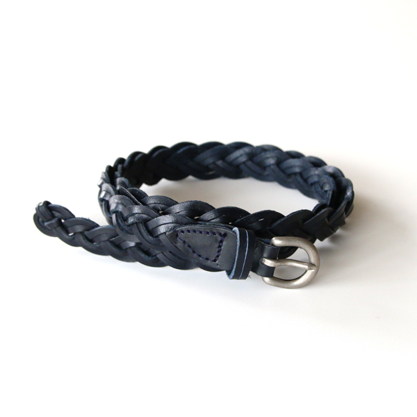 ベルト DOUBLE 3PLY BELT(DKNAVY)