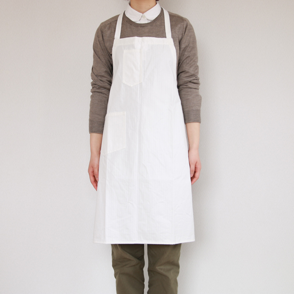 ビブエプロン(Bib Apron)Off White