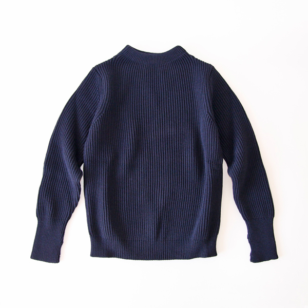 セーラーセーター THE NAVY CREWNECK blue