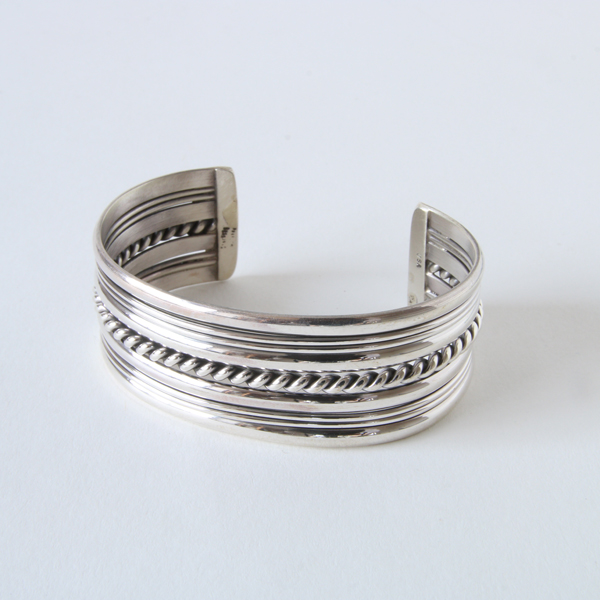 STERLING SILVER BANGLE WIDE SBW9