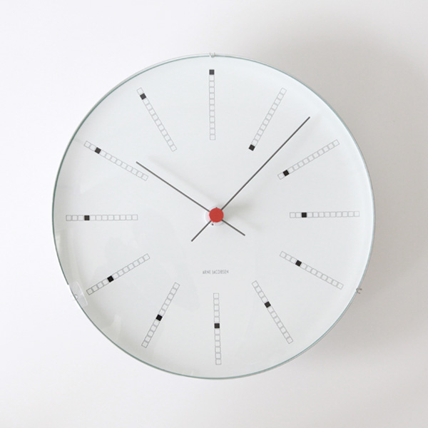 ARNE JACOBSEN Wall Clock Bankers 290mm