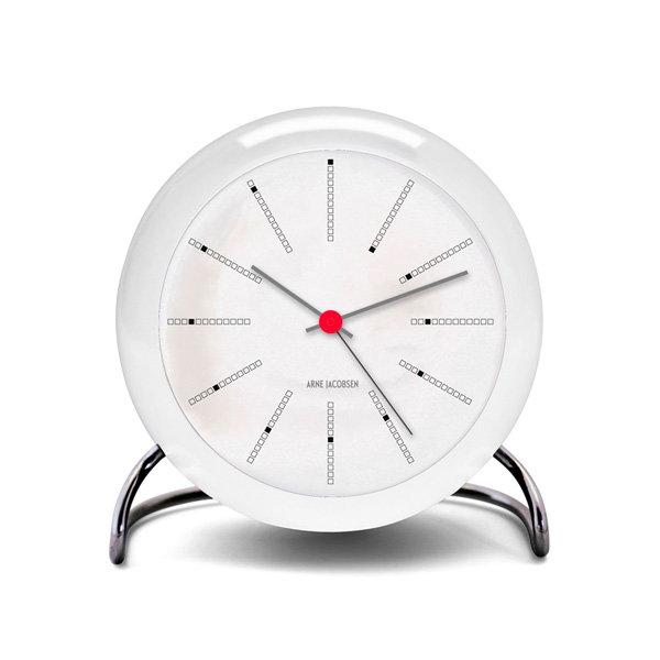 ARNE JACOBSEN Table Clock Bankers