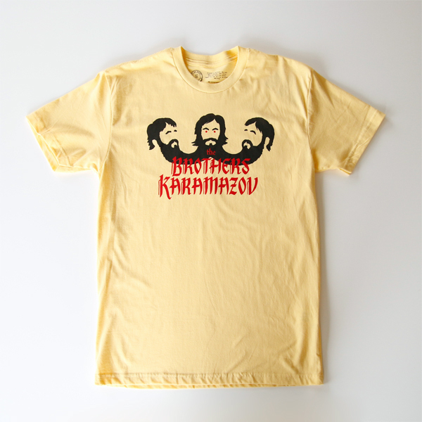 Tシャツ THE BROTHERS KARAMAZOVS「カラマーゾフの兄弟」-BANANA CREAM