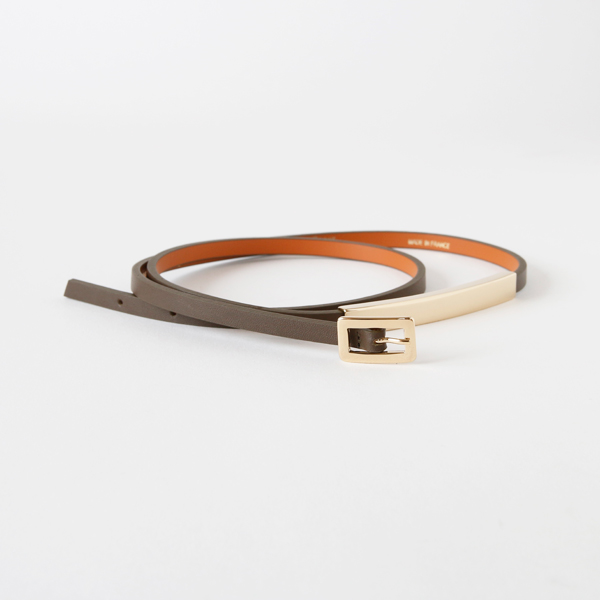 90132G THIN7mm BELT (CARIBOU)
