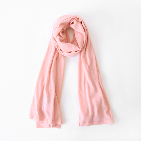 AIRY WOOL ストール(PINK)