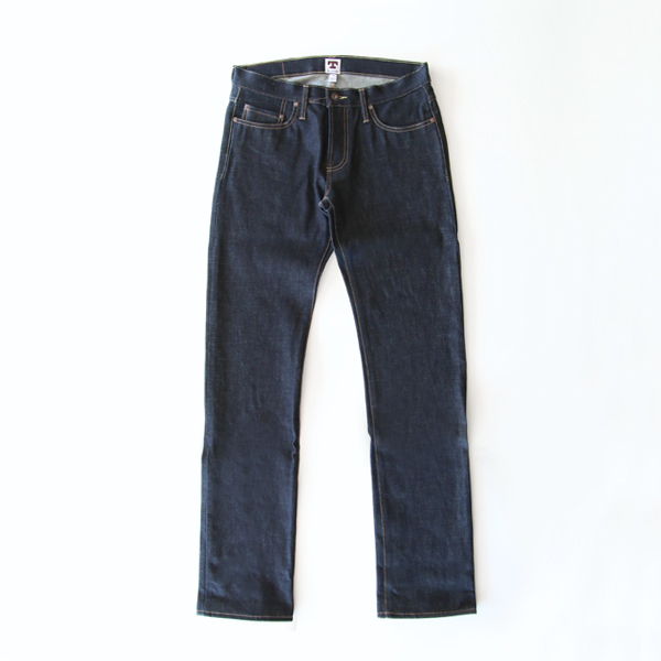メンズ デニム14.75OZ MID RIZE SLIM STRAIGHT RIGID