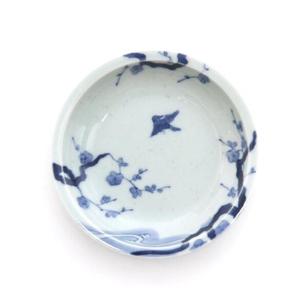 PRIME 4.5寸皿(染付梅鳥文)